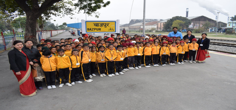 Visit to Railway Station by Pre-Primary wing